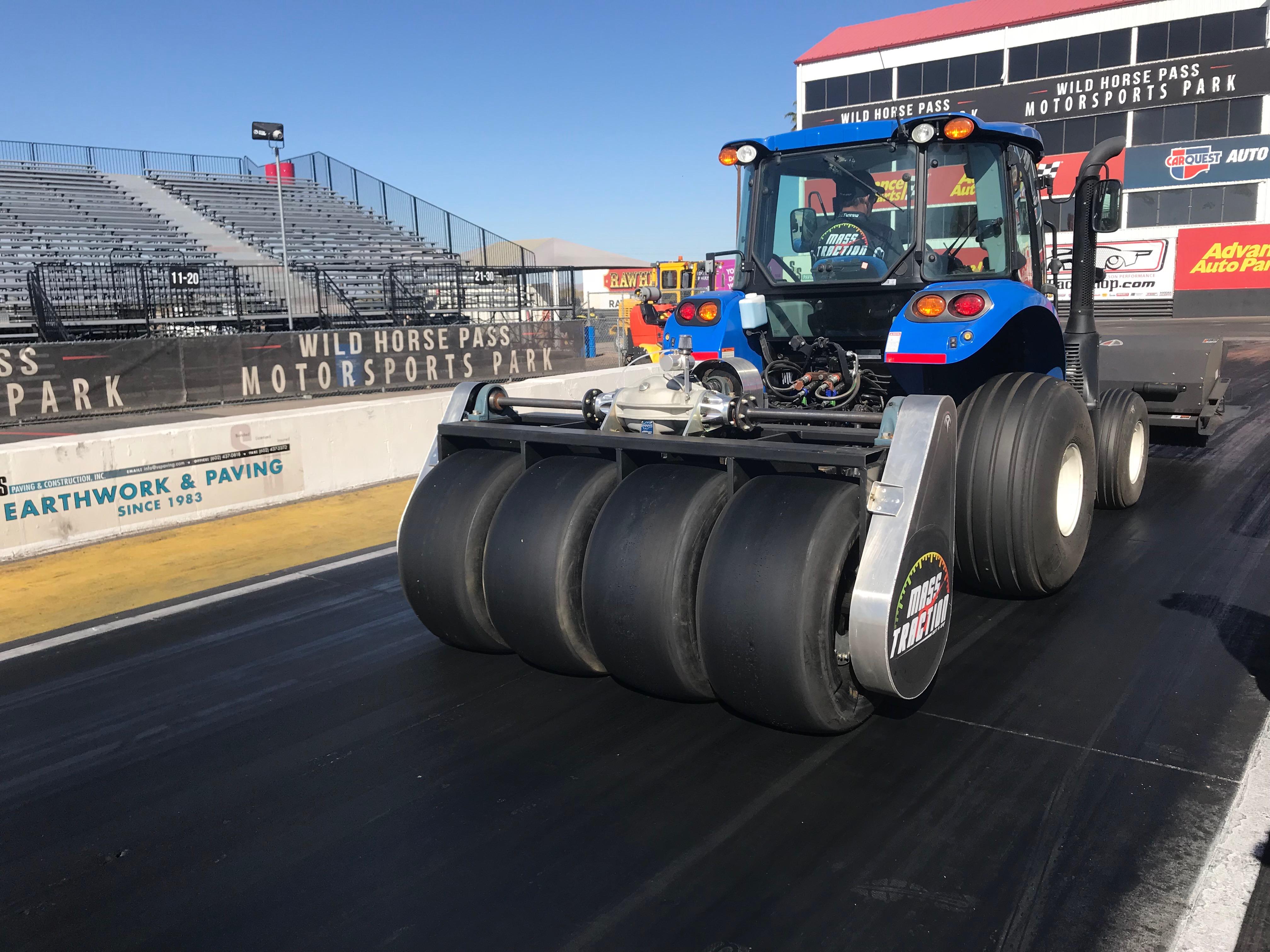 drag strip tire rotator