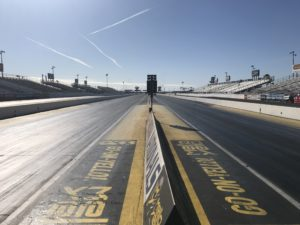 Drag strip starting line